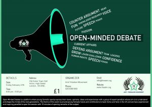 OPEN MINDED DEBATE